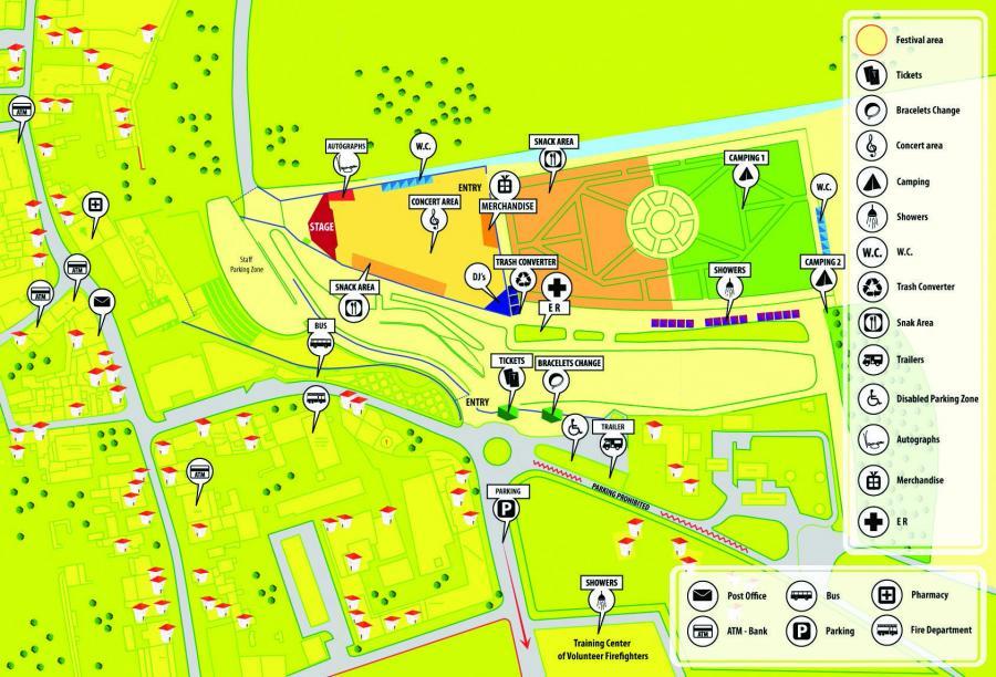 ConcertsMetal Calendar Vagos Open Air Days - Vagos portugal map