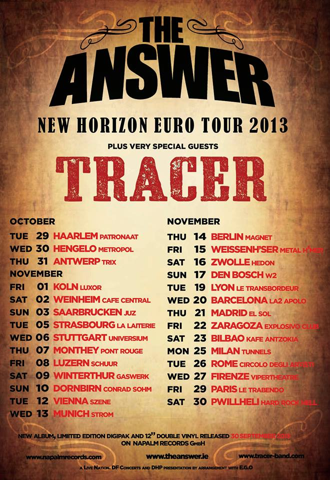 The Answer Tour 2013