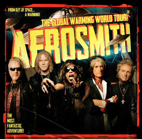 Aerosmith - SA Tour 2013