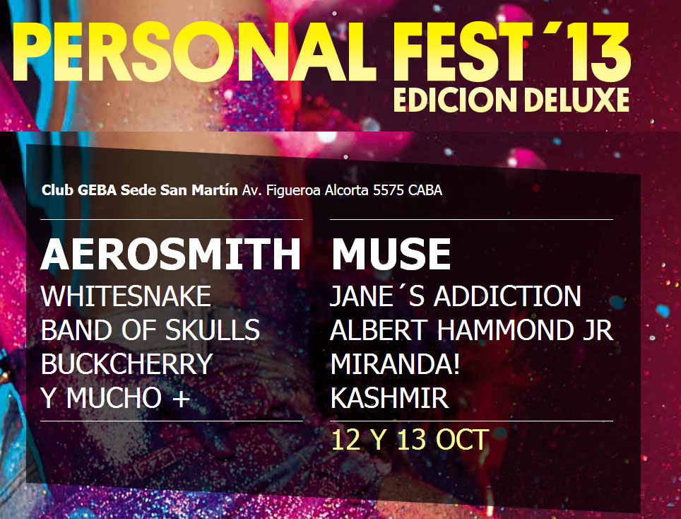 Personal Fest 2013