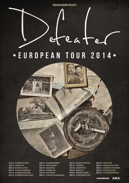 Defeater European Tour 2014