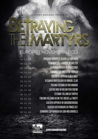 Betraying The Martyrs  Tour
