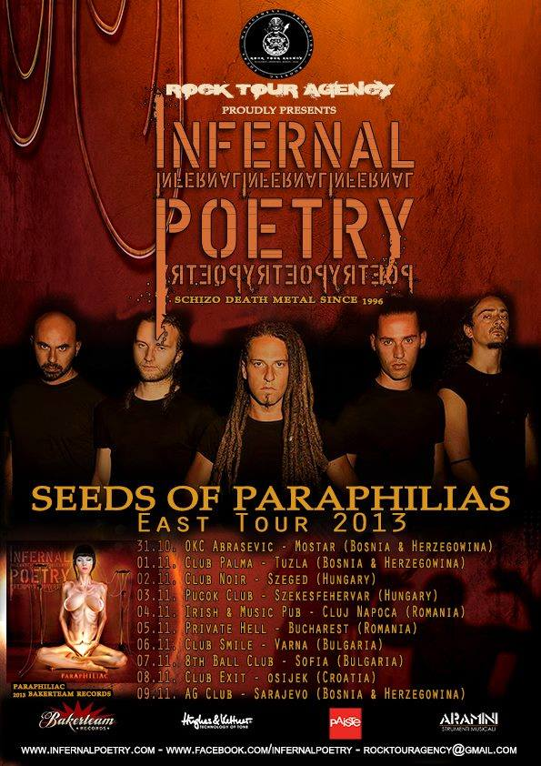 Infernal Poetry Tour 2013