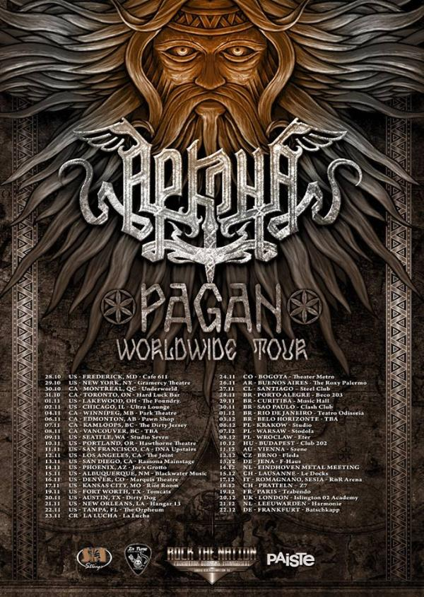 Pagan Worldwide Tour 2013