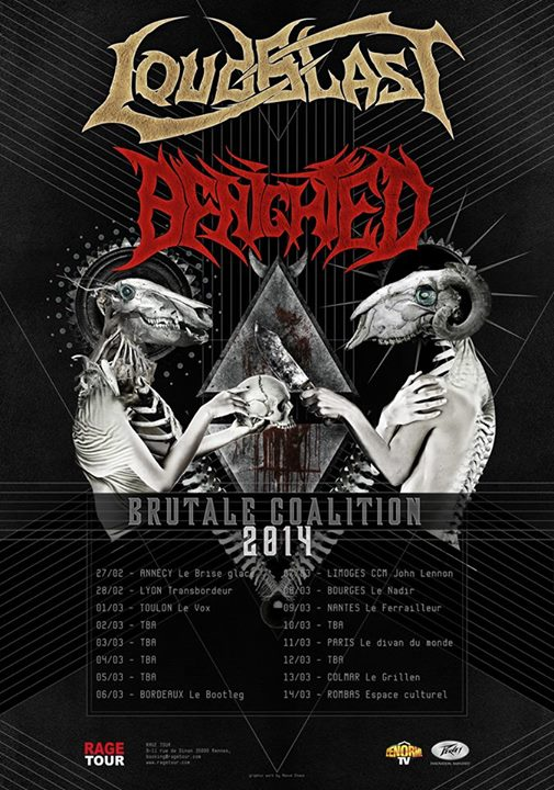 Loudblast + Benighted 2014
