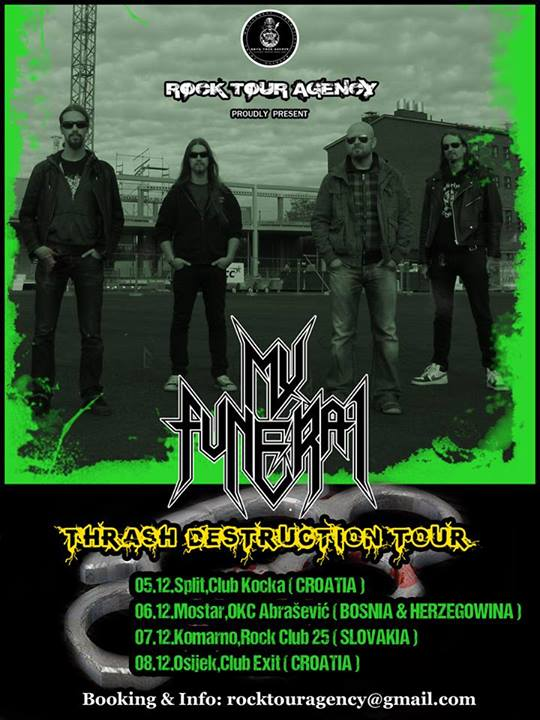 My Funeral Tour 2013
