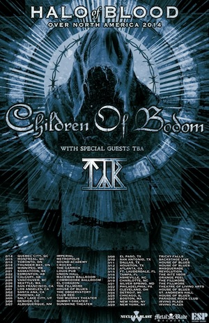 Children of Bodom NA Tour
