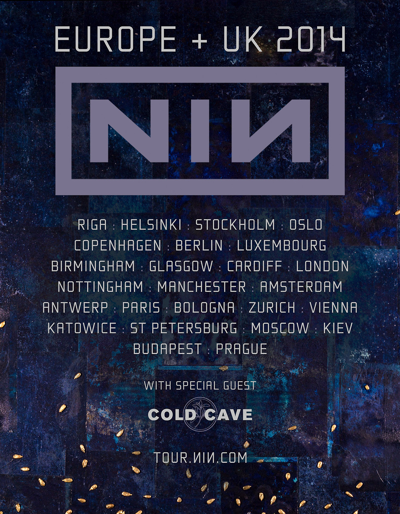 Concerts-Metal Calendar | Nine Inch Nails Europe 2014 - 16/05/2014 ...