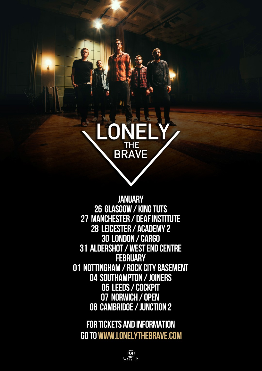Lonely The Brave UK Tour