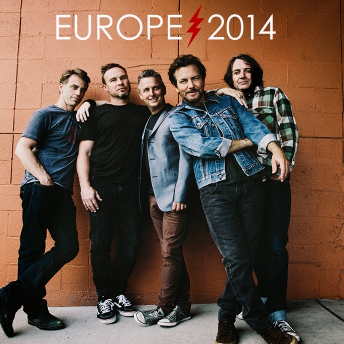 Pearl Jam Europe Tour 2014