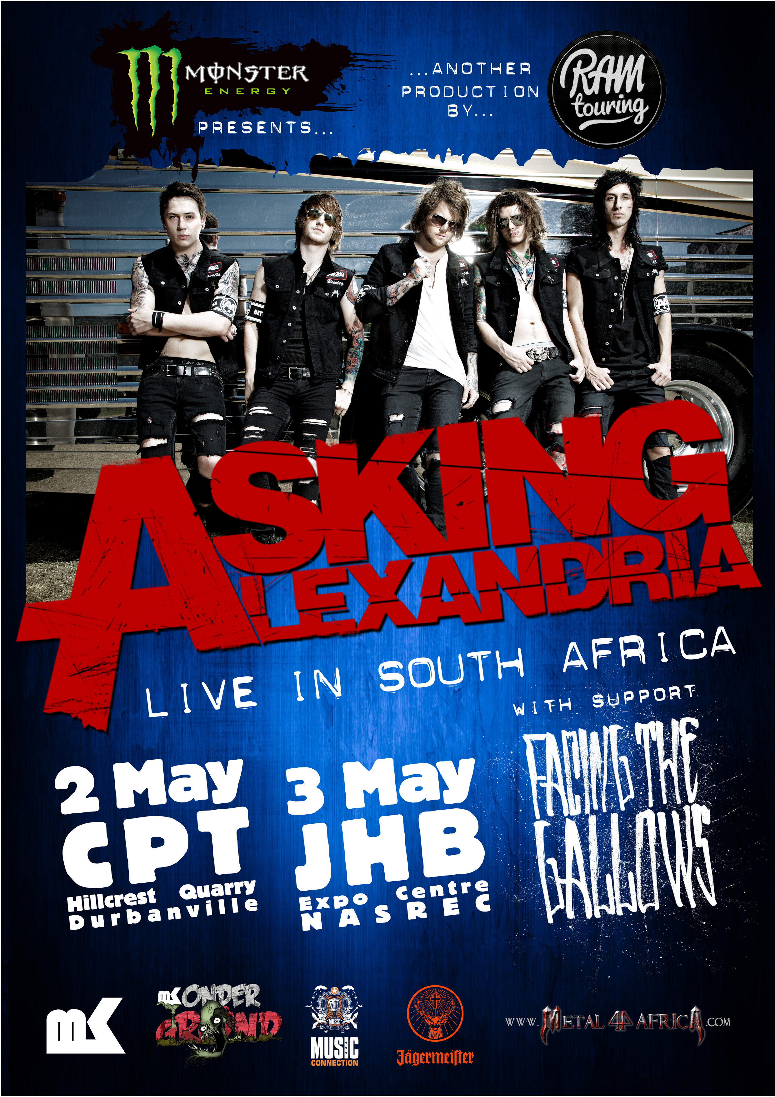 Asking Alexandria Tour 2014