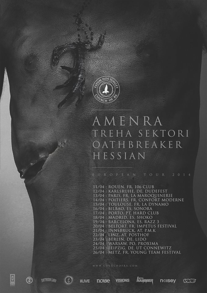 Amenra Tour 2014