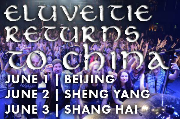 Eluveitie returns to China