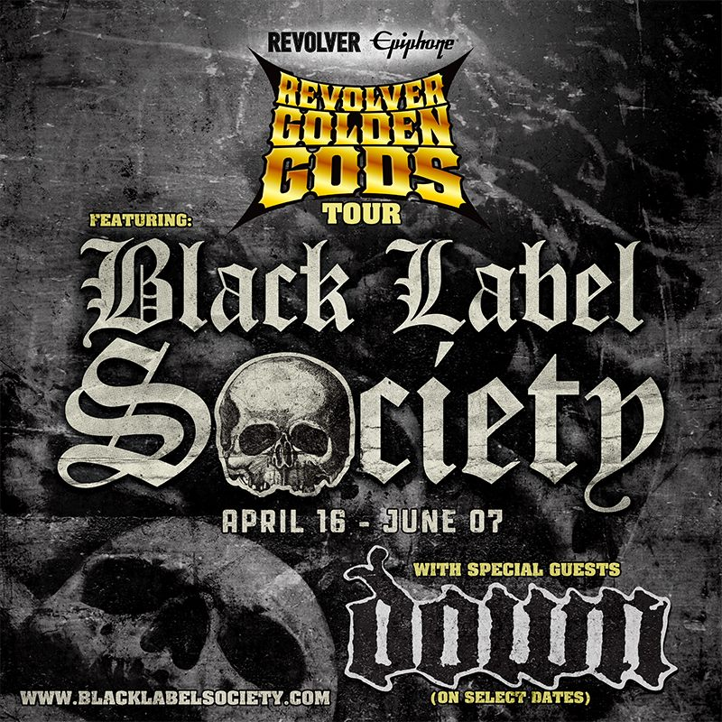 Black Label Society Tour