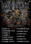 Iced Earth World Tour 2014