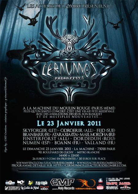 Cernunnos Pagan Fest 2011 - 23/01/2011 - Paris - Ile de France