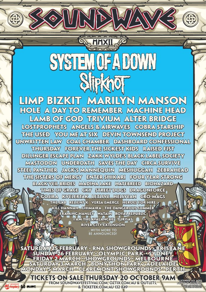 Soundwave Festival 2012