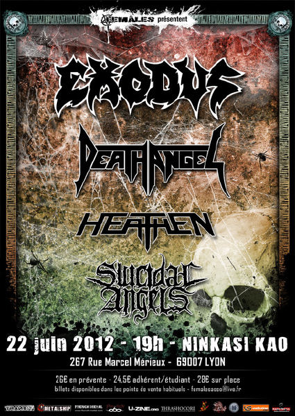 EXODUS+Death Angel+...