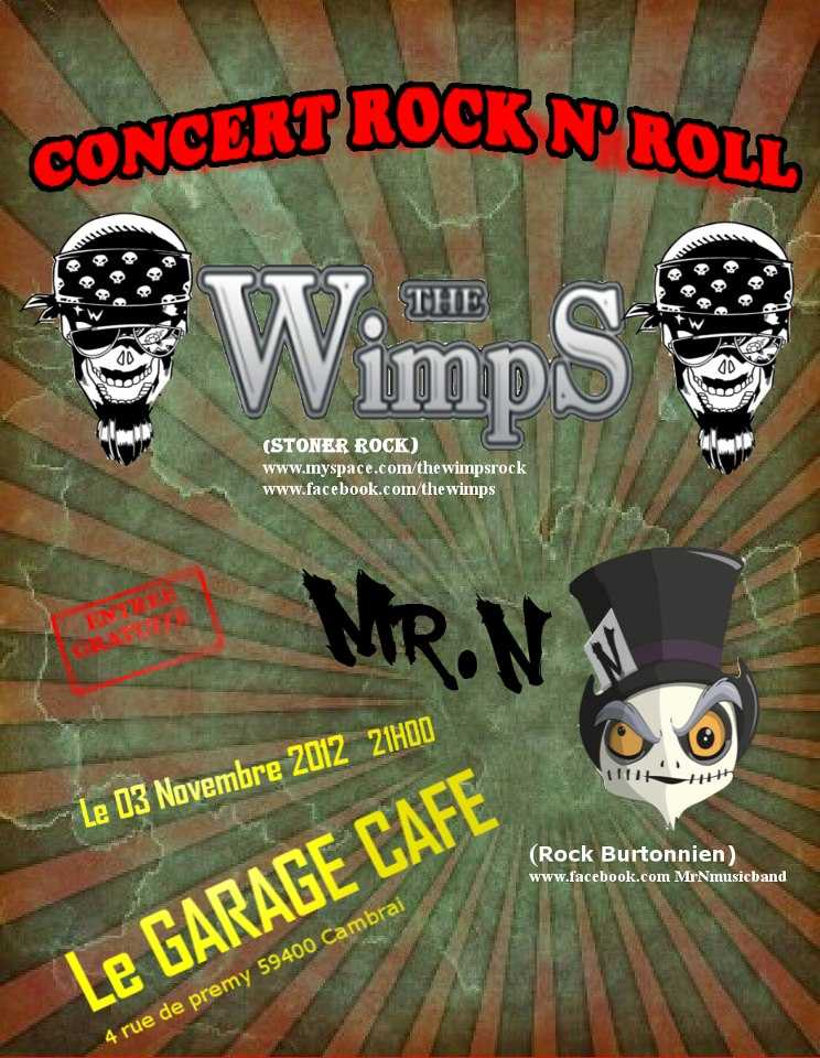 THE WIMPS + Mr N.