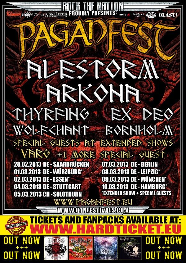 PaganFest 2013 - 09/03/2013 - München - Bayern - Germany | Concerts