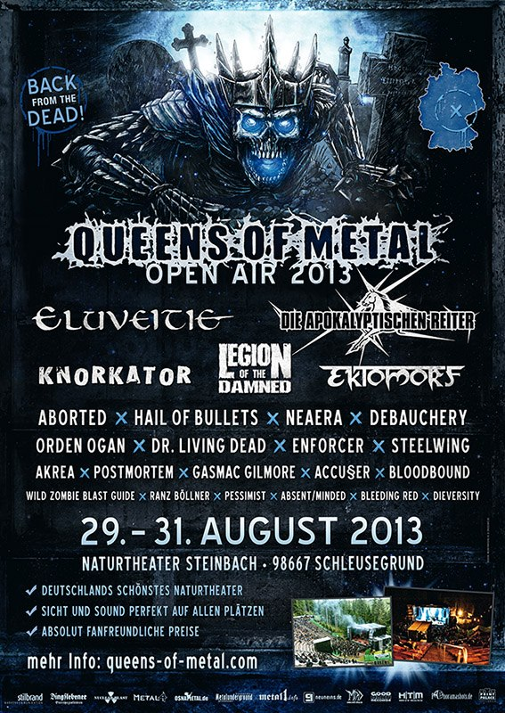 Queens of Metal 2013