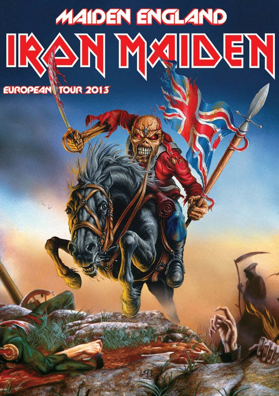 Maiden England Tour 2013