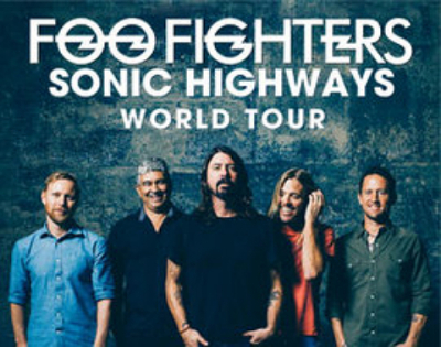 Foo Fighters - Tour 2015