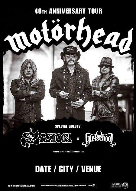 motorhead concert dates