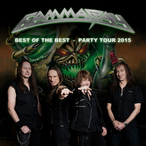 Gamma Ray - Tour 2015