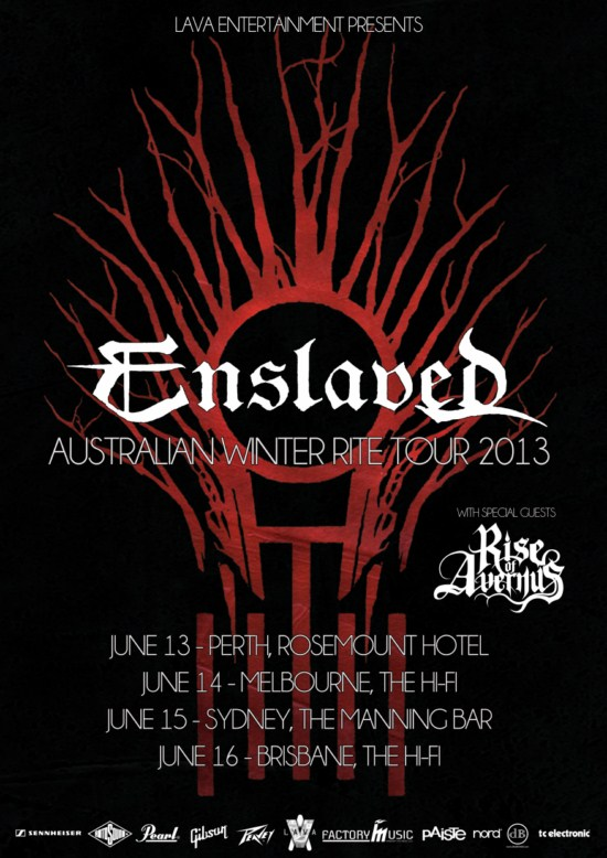 Enslaved Australian Tour