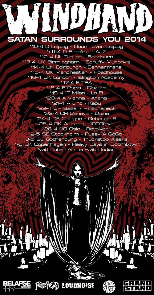 Windhand European Tour 2014