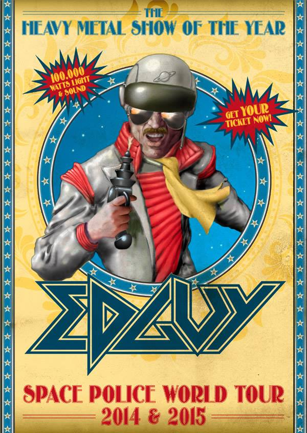 Edguy European Tour 2014
