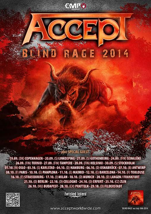 Accept European Tour 2014