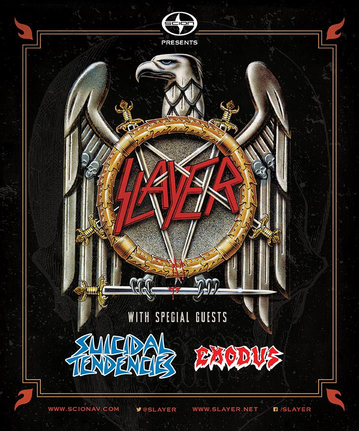 Slayer's 2014 U.S. Tour