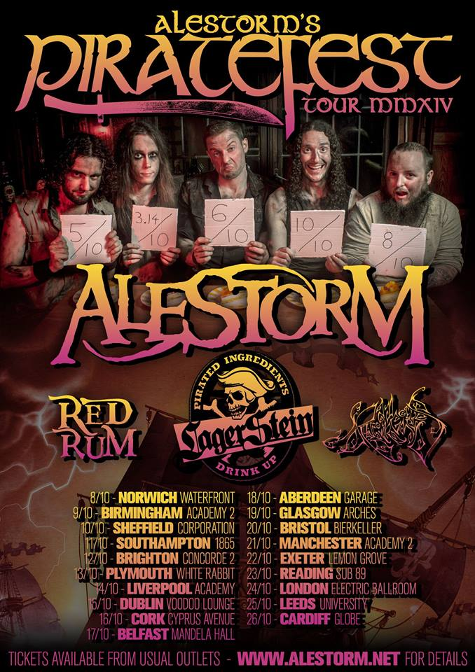 Alestorm Piratefest 2014