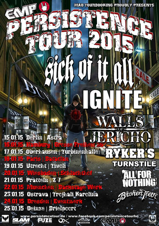 Persistence Tour 2015