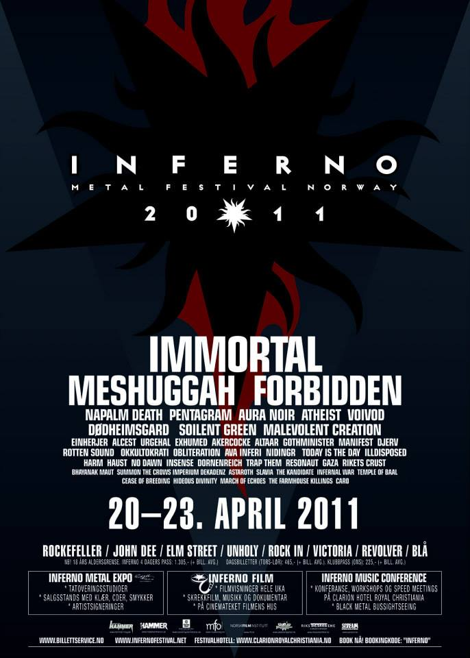 Inferno Metal Festival 2011