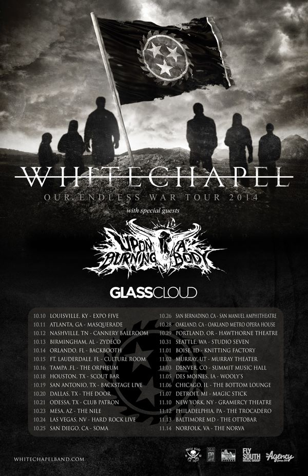 Whitechapel - NA Tour 2014