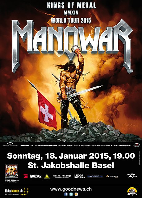 Manowar World Tour 2015