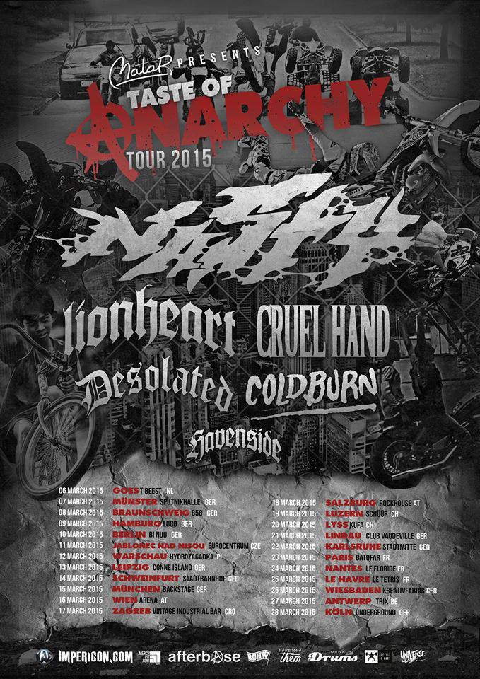 Taste Of Anarchy Tour 2015