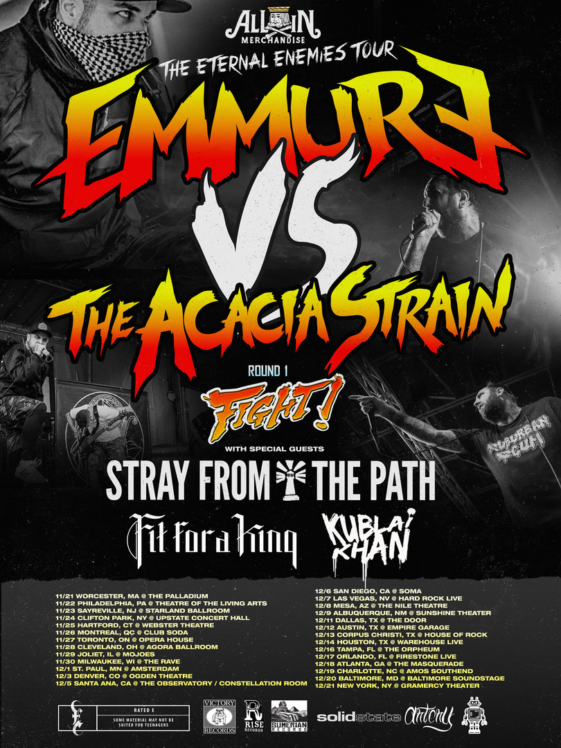 Eternal Enemies Tour 2014