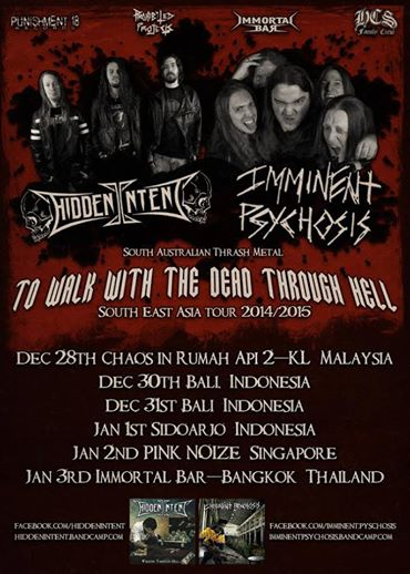 South East Asia Tour 14/15