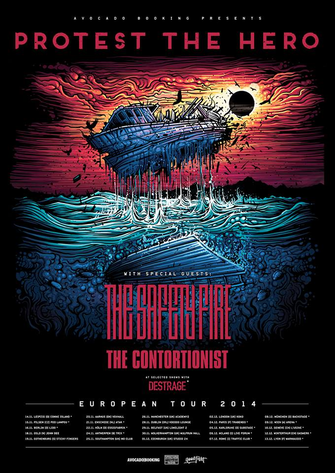Protest The Hero Tour 2014