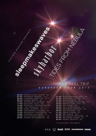 Sleepmakeswaves Tour 2015