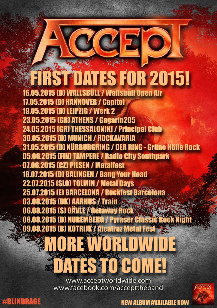 Accept European Tour 2015