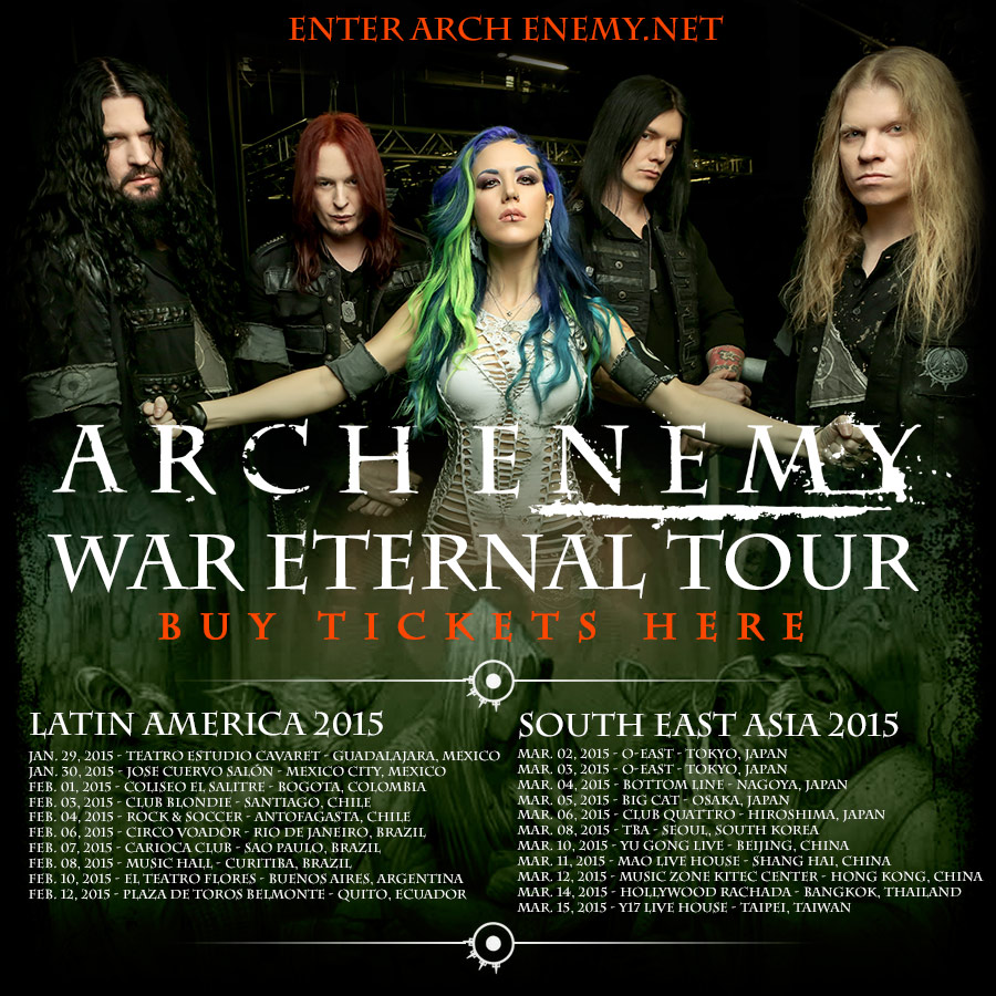 Arch Enemy - live 2015