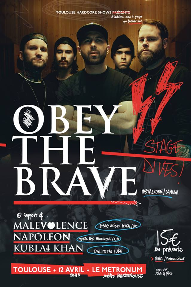 Obey The Brave + Guests
