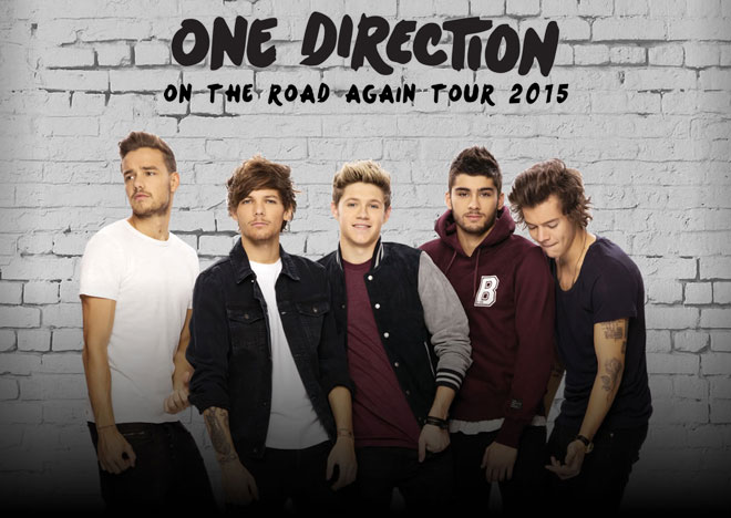 One Direction - Europe 2015