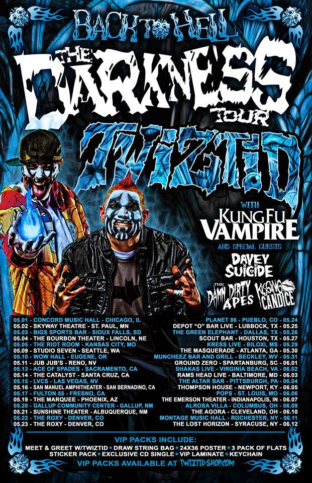 The Darkness Tour 2015