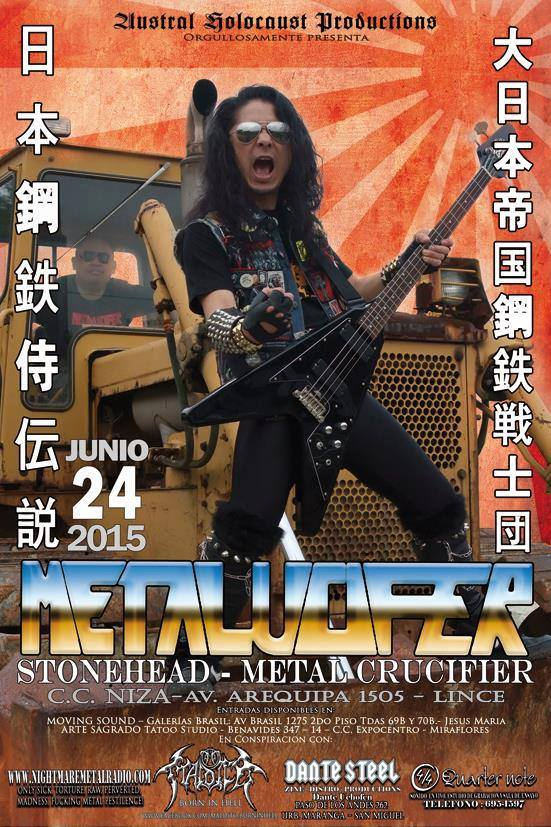 Metalucifer - Tour 2015
